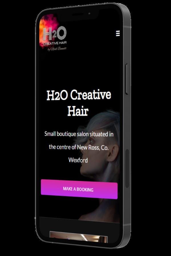 mobile friendly salon website